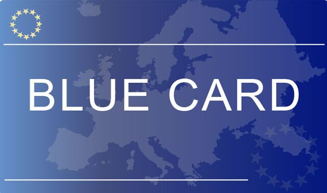 بلوکارت-Blue card  چیست ؟
